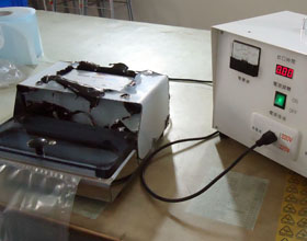Sealing time testing machine