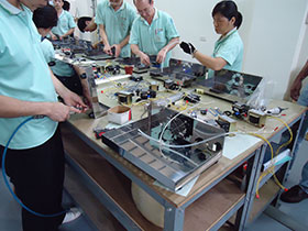 Parts and material quality control-4