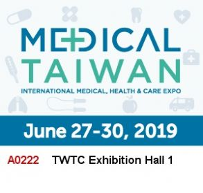 2019 Taiwan Int'l Medical & Healthcare Exhibition (MEDICAL TAIWAN)