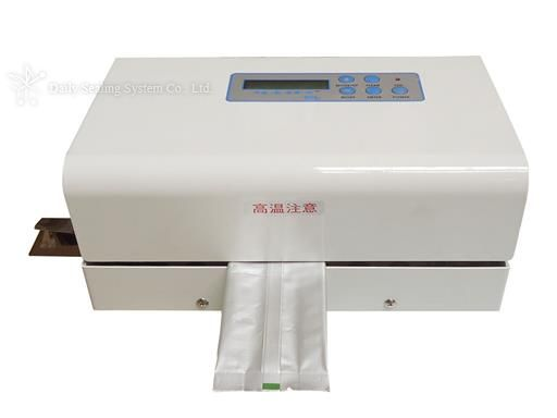 Rotary sealer for sterilization bag