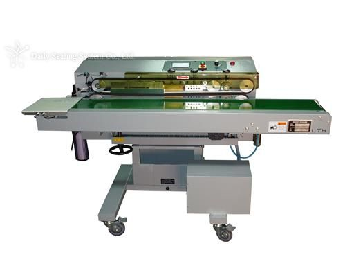 High Efficient horizontal nozzle vacuum band sealer