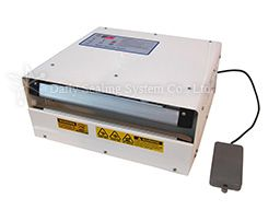 Motor controlled impulse sealer